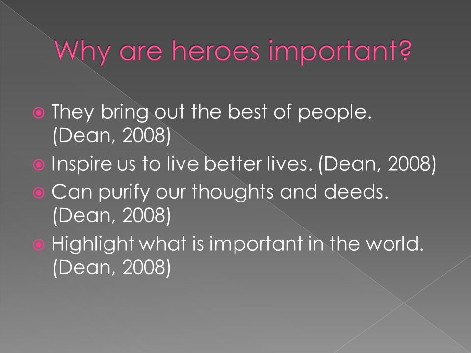 why superheroes really are important
