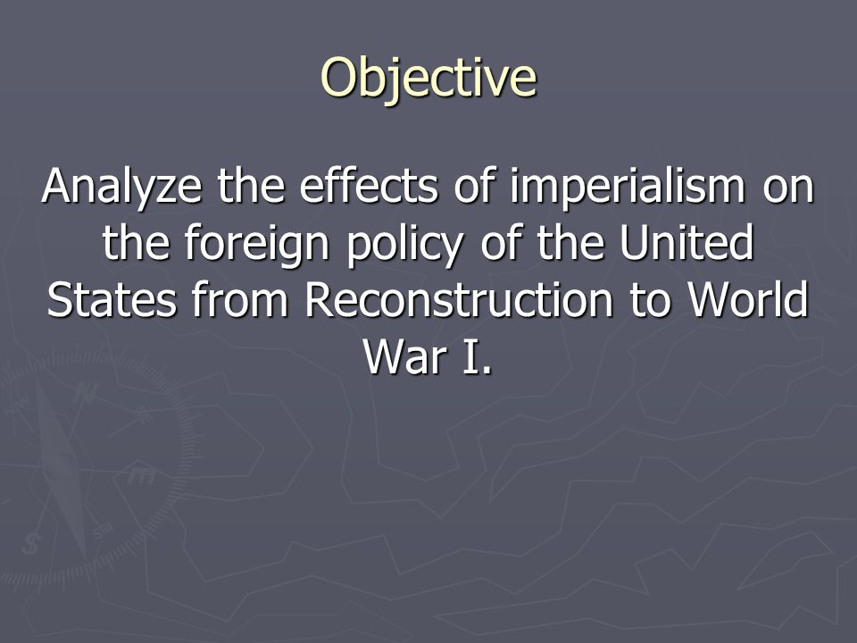 effects of u s foreign policy on George washington, america's first president, practiced a pragmatic yet successful foreign policy approach in the early years of the united states.