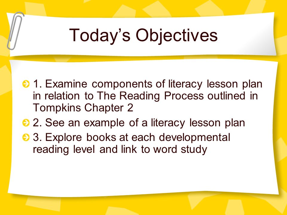 an analysis of the components of literacy How to write a literary analysis essay  subject down into its component parts examining the different elements of a piece of literature is not  literary work.