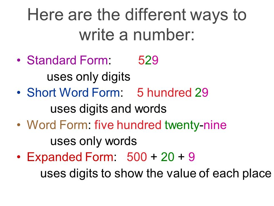 Numeration- (Place Value) - ppt video online download