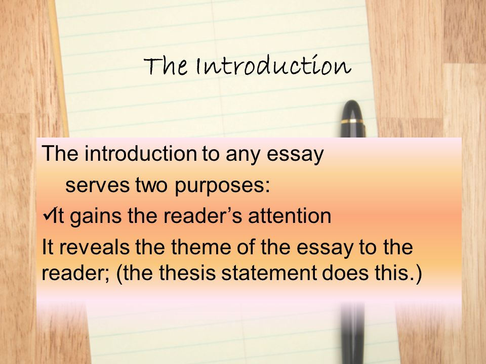 an introduction to the creative essay on the topic of a play Read this guide to learn how to write an essay for year 11 and 12 writing practice essays is an essential part of getting band 6 for english.