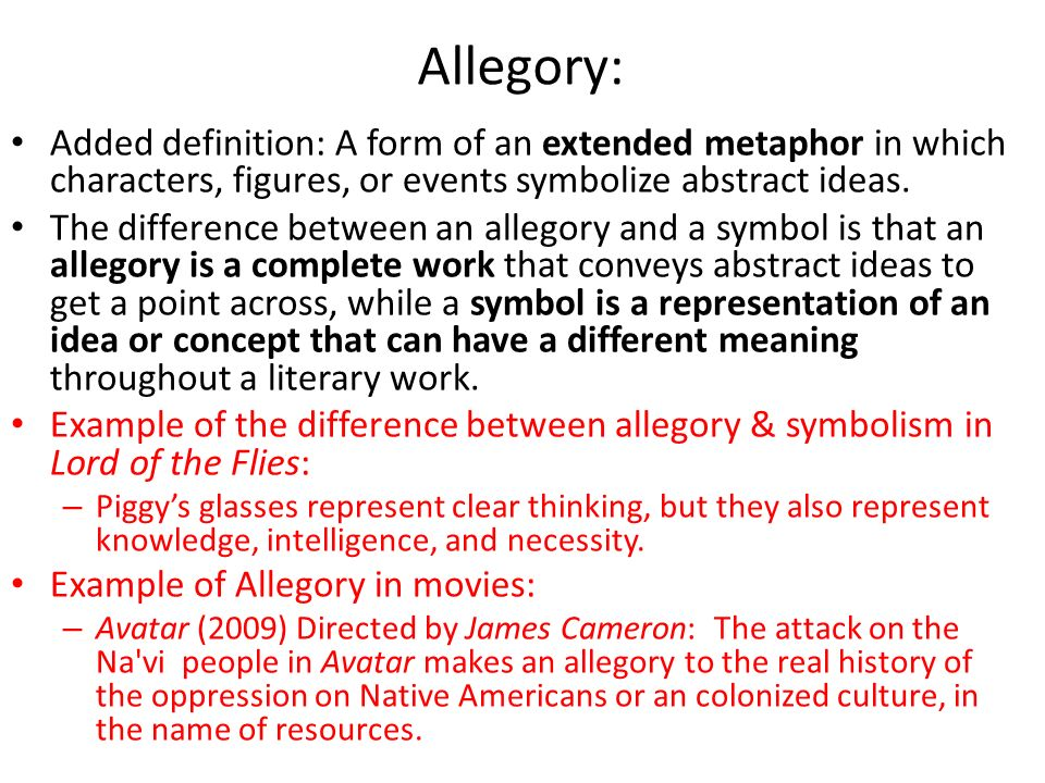 allegory of the movie avatar Politics - cinema and the war - movies against the war - avatar avatar there are many films that are perhaps (or perhaps not) allegories for the current war, such as the pro-war allegory.