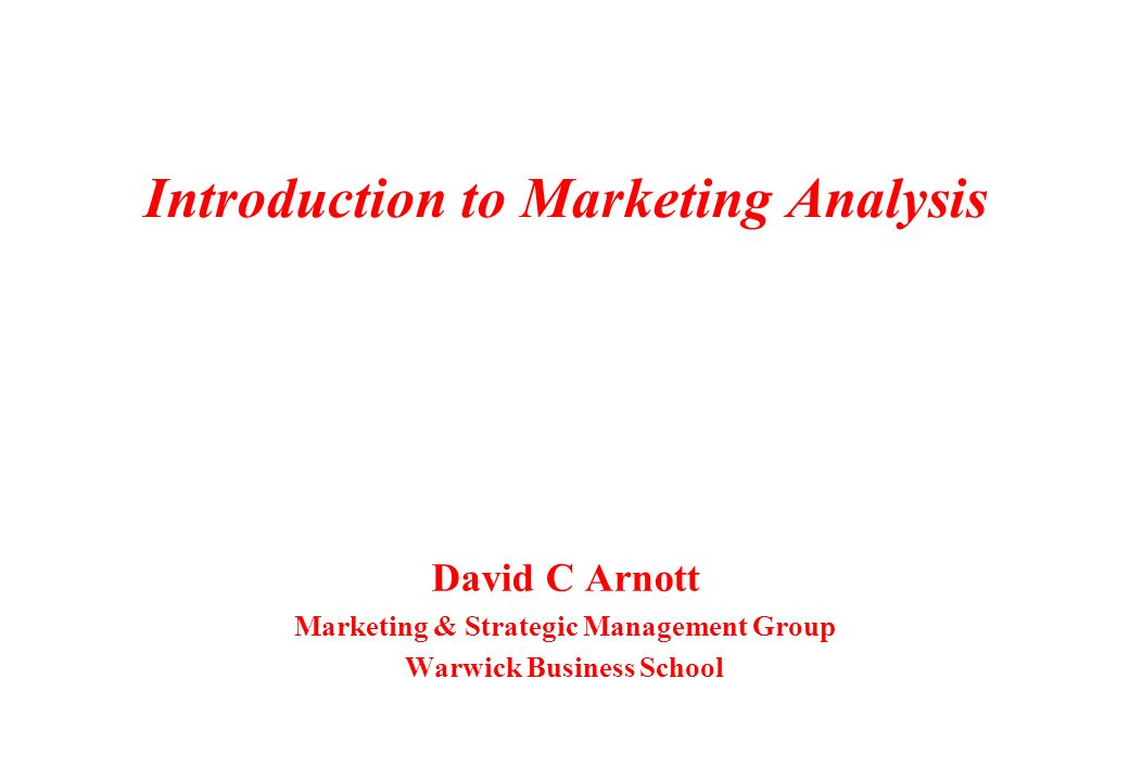an introduction to the analysis of sport marketing Customer and social media data in sports marketing – guidebook  basic  elements of data collecting and analysis, especially customer data, where to  as  an introduction to my own thesis, i feel it's necessary to clarify and.