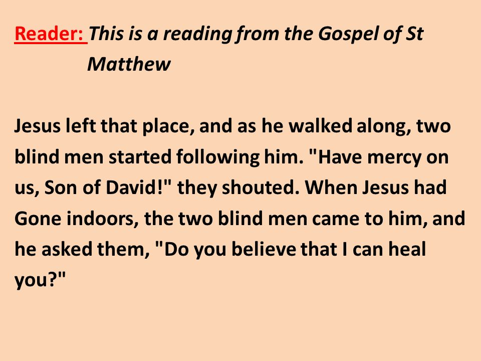 charitable reading of gospel of matthew In a word, if the unknown author of the gospel of matthew (who, for simplicity's sake after reading your insights into the gospel of matthew.