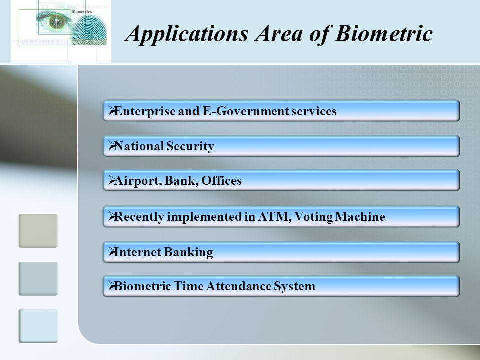 Biometrics Authentication Technology Ppt Download