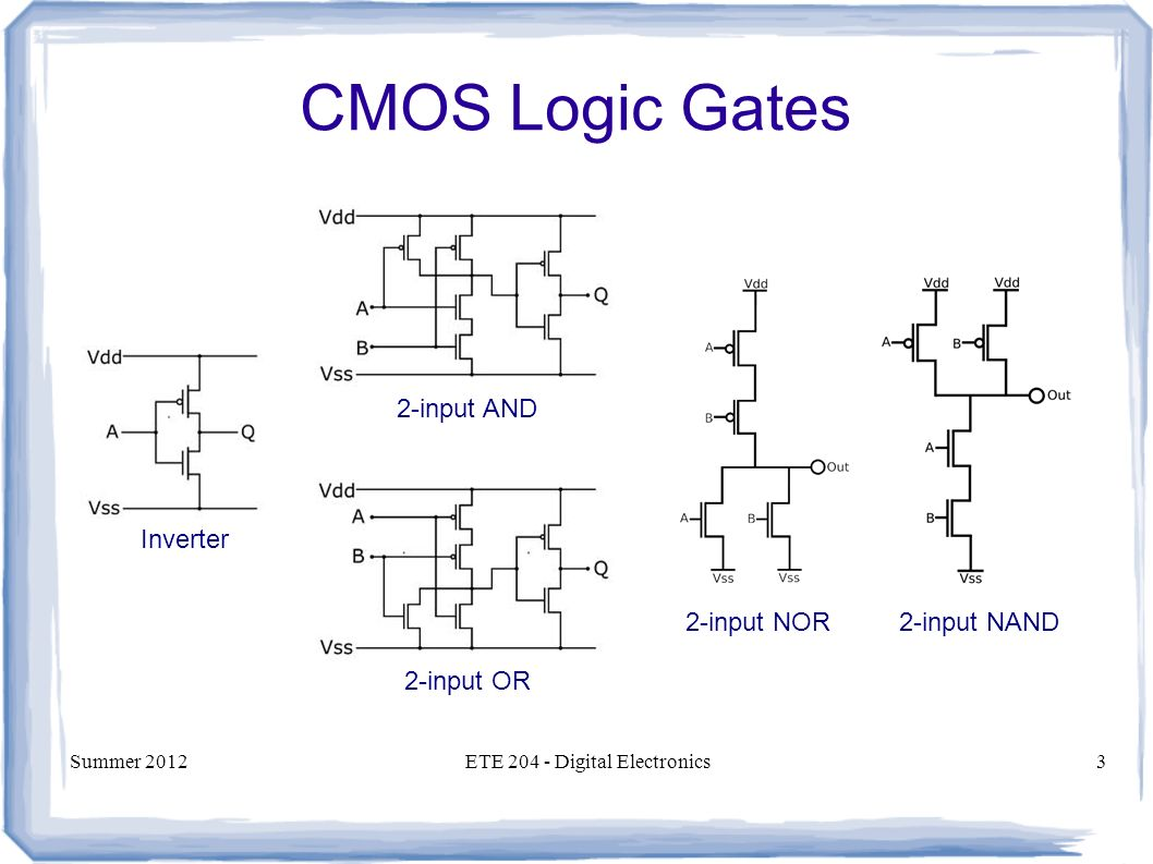 how to get 6 outputs from 2 inputs logic gates