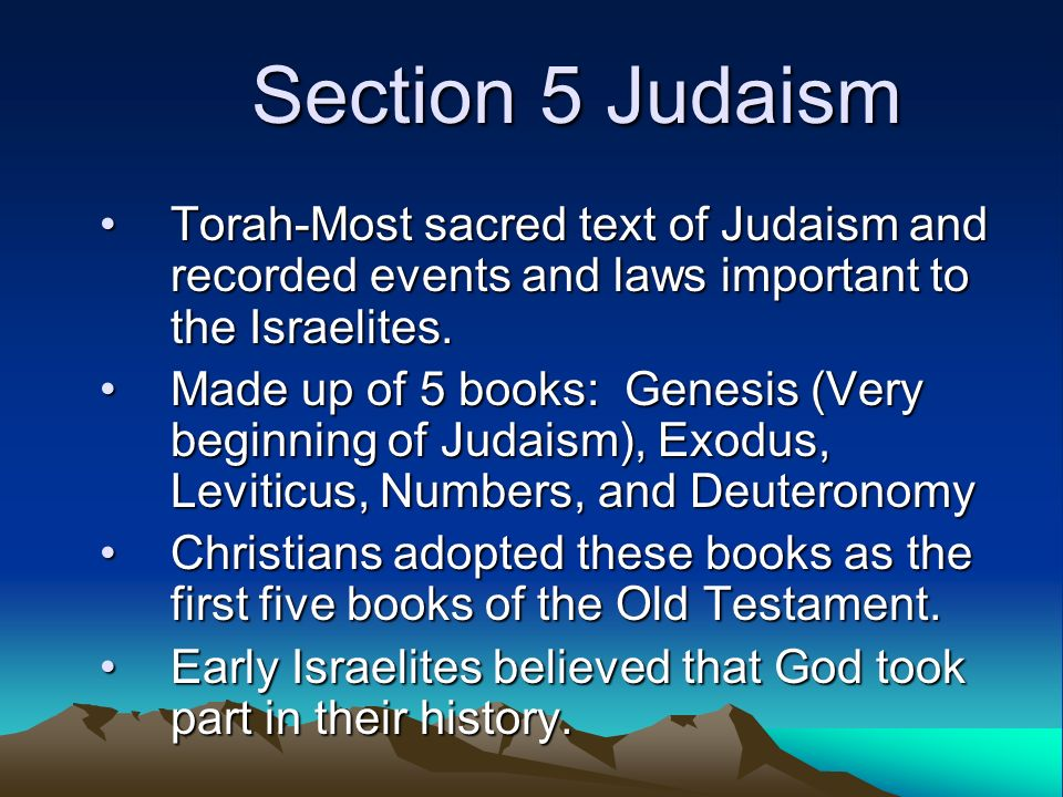 the early history of judaism and their beliefs In so doing, the early christians were simply following in the footsteps of the sumerians, the egyptians, the phoenicians, the greeks, and the romans all of whom had their own stylized rituals for the worship of their gods.