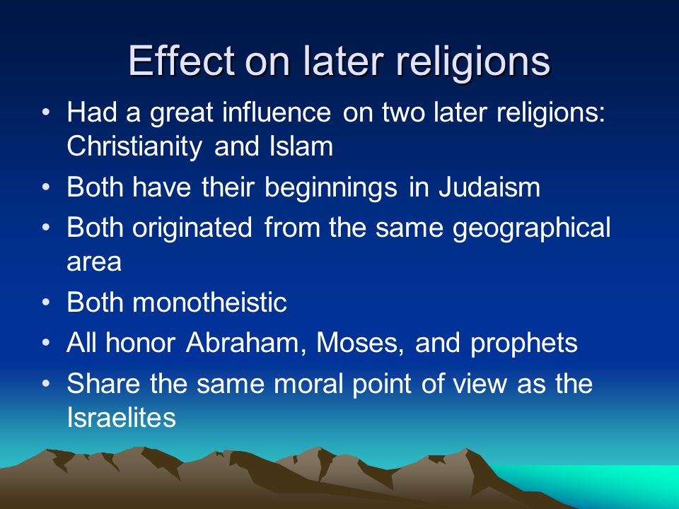 Section 5 Judaism Torah Most Sacred Text Of Judaism And