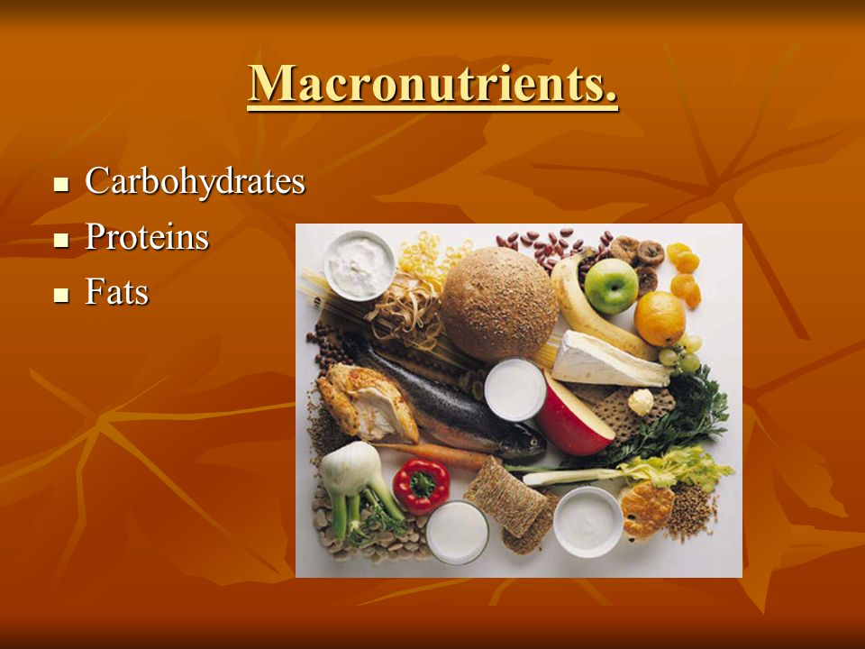 macronutrients nutrition and carbohydrates In this article, we'll start with the macronutrients (protein, fat, and carbohydrates)  we'll discuss the micronutrients (vitamins and minerals) in a future issue.
