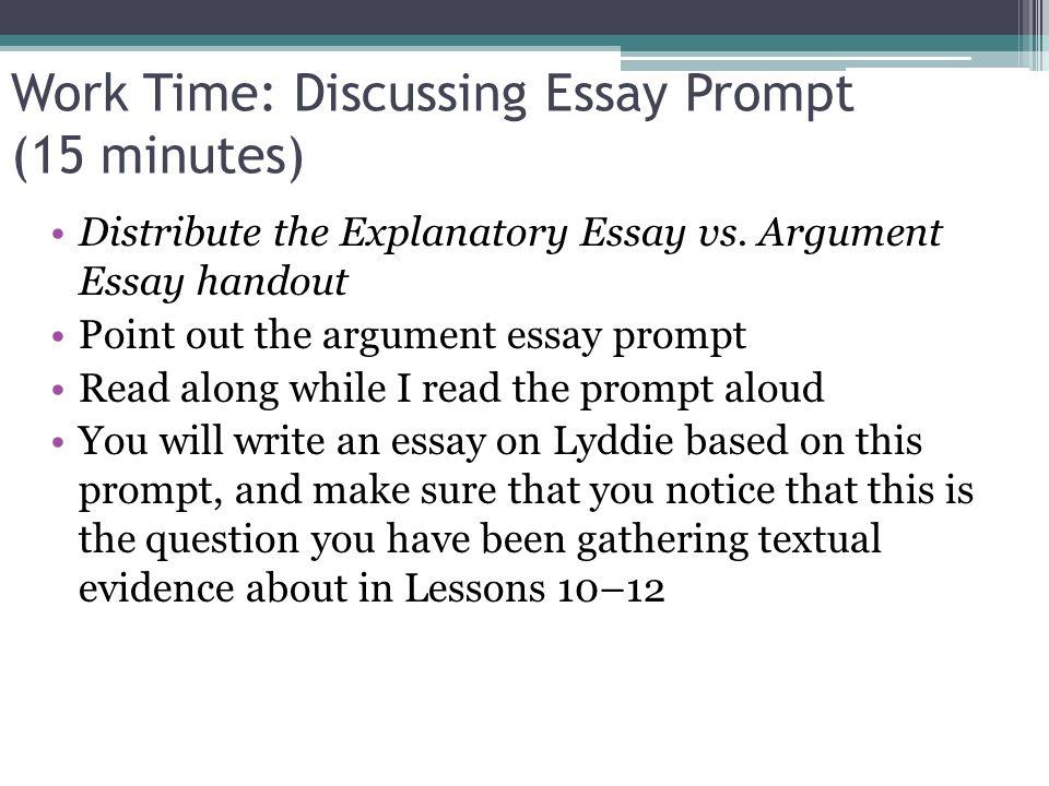 Work Essay