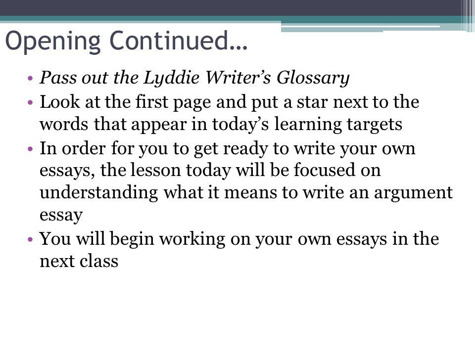 description of the lesson essay Lesson plan: writing descriptive paragraphs do a descriptive writing activity using a picture this lesson introduced students to the descriptive writing.
