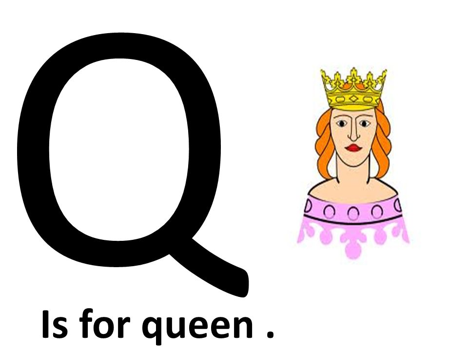 Q Is For Queen ABC Learning Book BY: ...