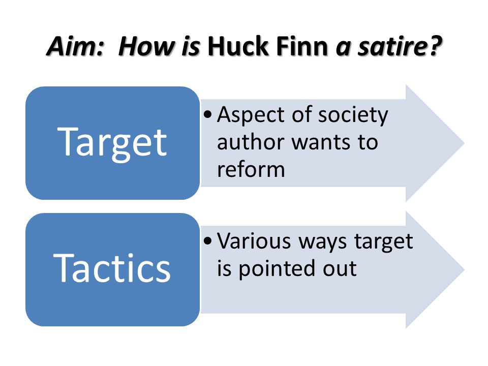 Examples of antithesis in huck finn
