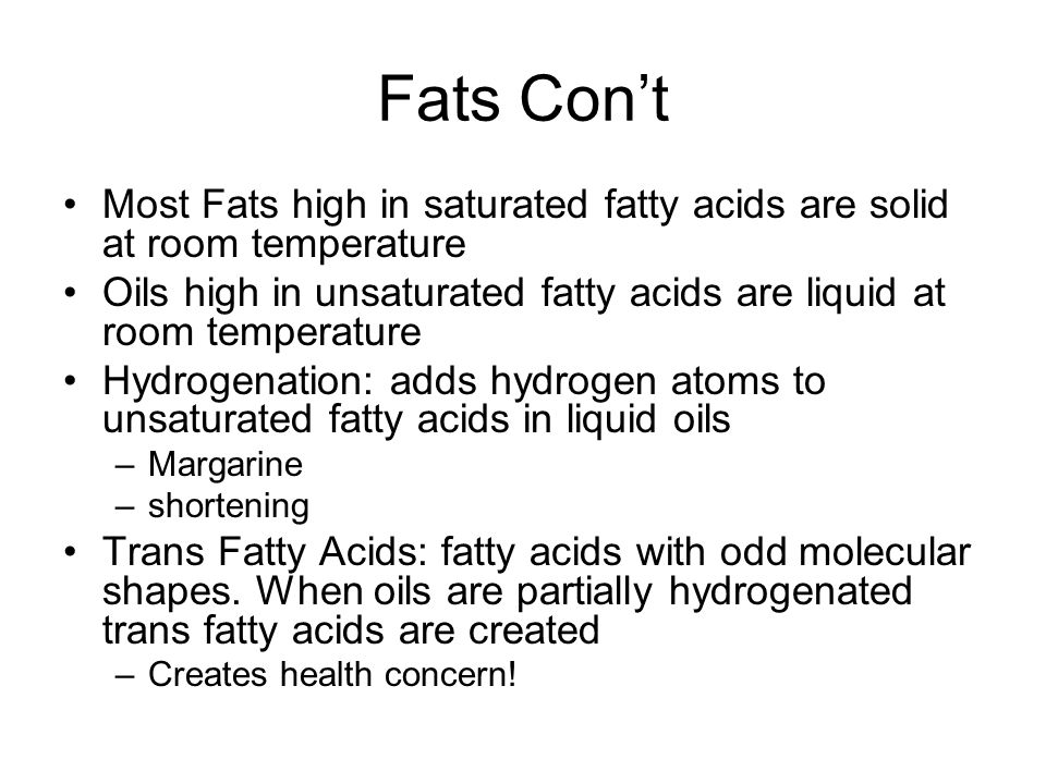 Hydrogenated Fatty Acids Solid At Room Temperature