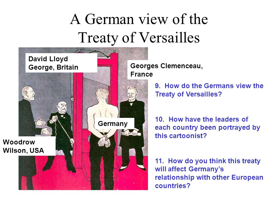 how did the versailles treaty help Treaty of versailles - the treaty imposed on germany by the allied powers in  1920  during this time, to comply with the versailles treaty, the aircraft were  built.