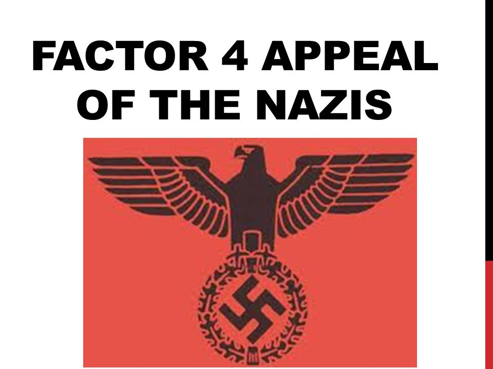 the depression as the decisive factor in the nazis seizure of power Consolidation of nazi power where rohm and other sa leaders were murdered by hitler became a decisive factor in the from the initial seizure of power.