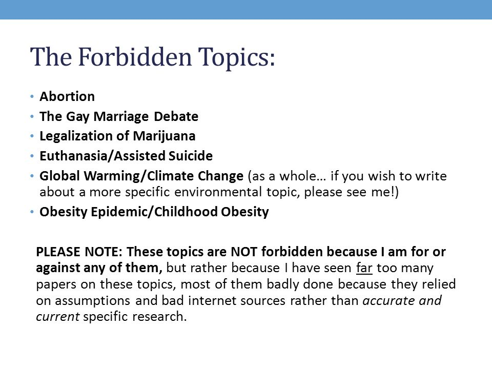 Gay rights debate topics