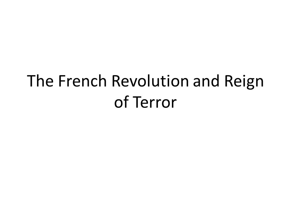 causes of the french revolution essay conclusion