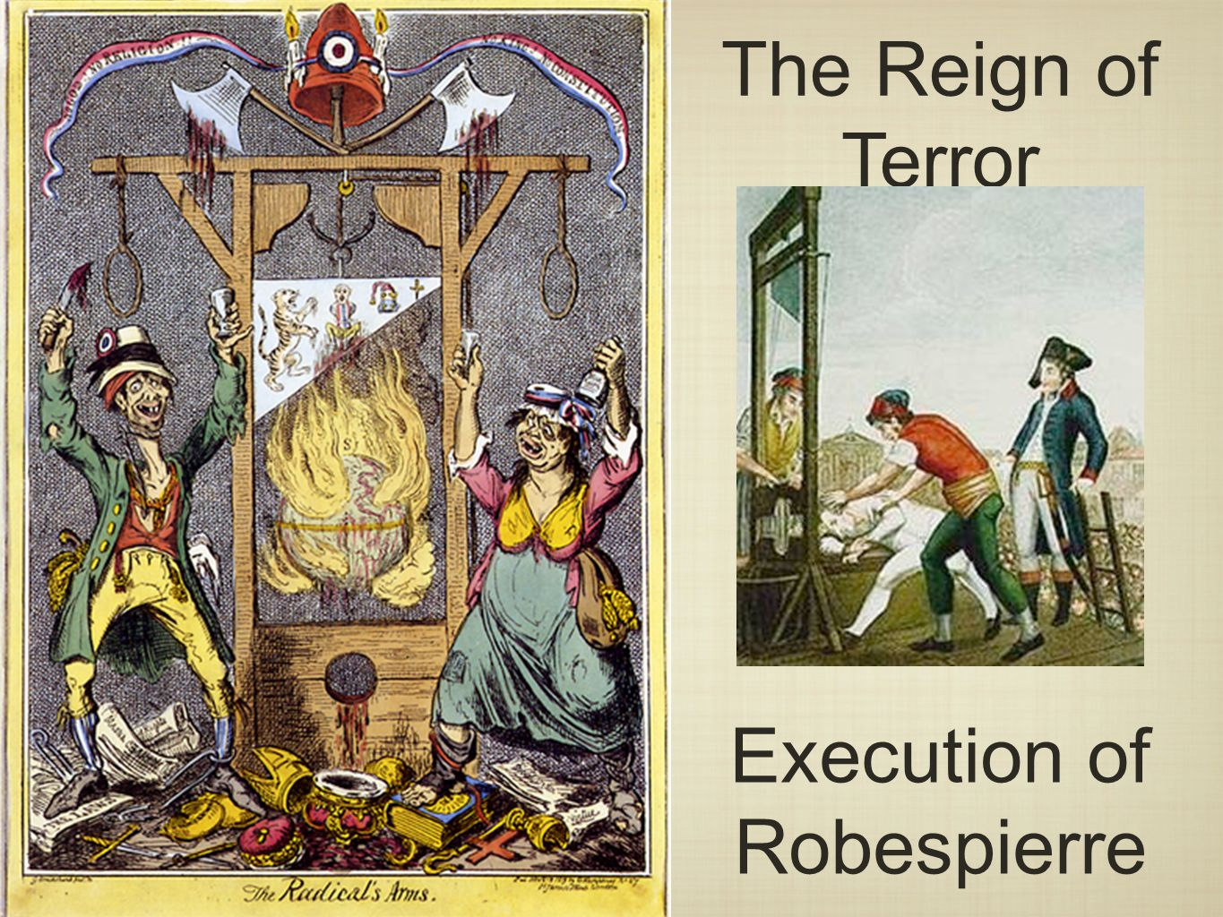 the reign of terror Reign of terror n 1 the period (1793-1794) of the french revolution during which the republican government was temporarily suspended, power was concentrated in the.