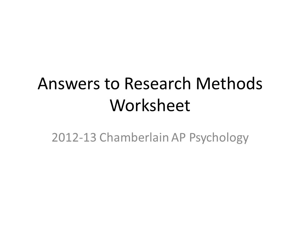 origins psychology and research methods worksheet Origins of psychology and research methods worksheet 2 • psychoanalytic  perspective emphasizes the role of the unconscious (unaware) mind one's past .