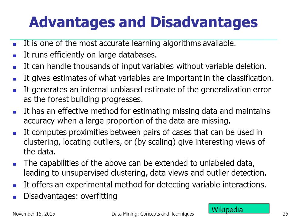 data mining benefits and drawbacks essay Data warehousing is a useful tool for many companies because it creates an easily accessible permanent central storage space that supports data analysis, retrieval, and reporting (rosencrance, 2011) five benefits of using data warehousing include delivery of enhanced business intelligence, saving time, heightened and consistent data quality, ability to access previous information, and a high.