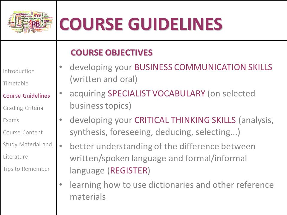 critical and creative thinking course description Thurs 1-3pm and by appointment course description this course  provides an in-depth study of how creativity and critical thinking impacts learning.