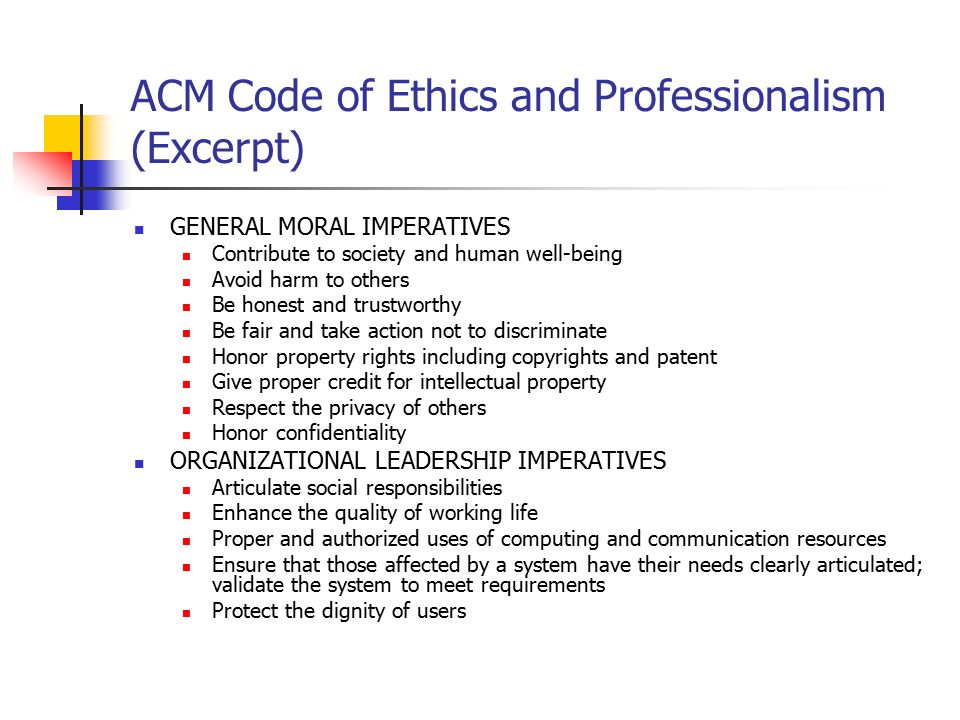 professionalism ethics on being a Professionalism and ethics of appearance but that it is not the sole factor in being a professional the value of the professional model for law enforcement.