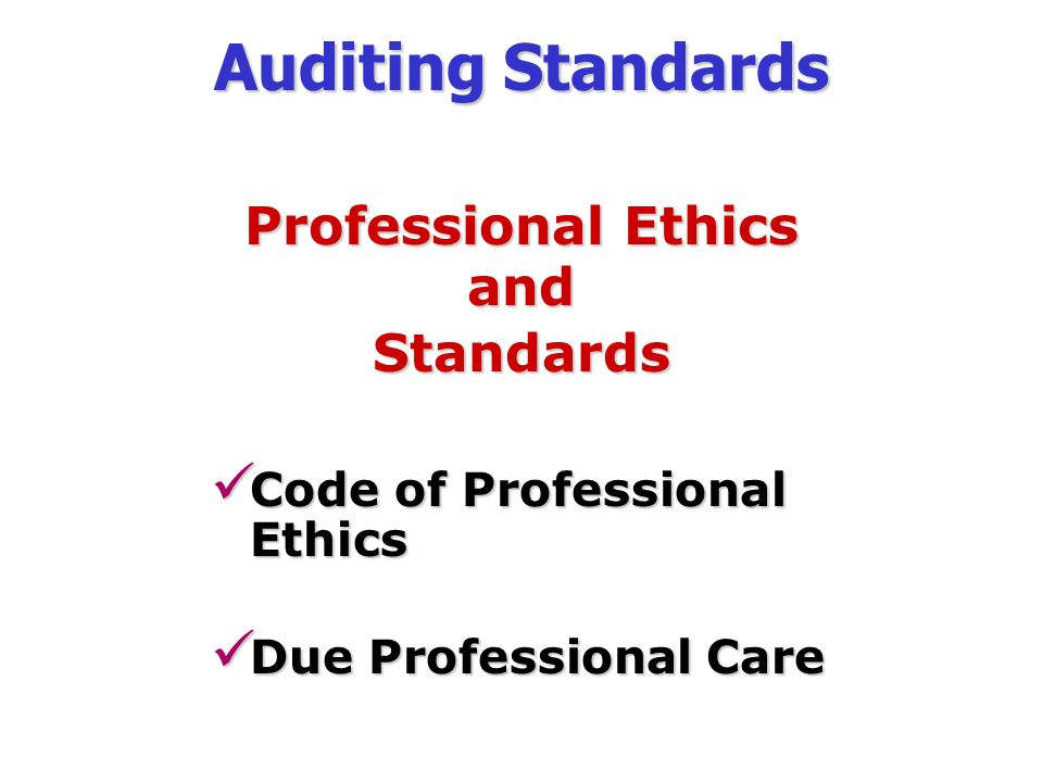 auditing ethics —robert h montgomery, describing ethics in accounting in 2009 accounting  ethics is  knowledge of ethics can help accountants and auditors to overcome  ethical dilemmas, allowing for the right choice that, although it may not benefit the .