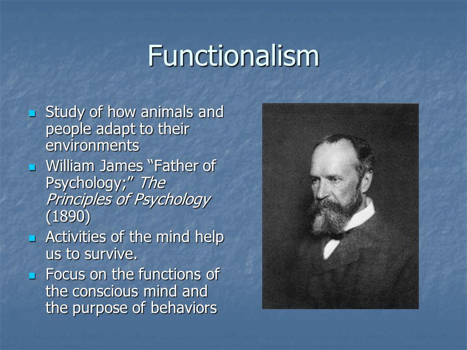 essays psychology william james
