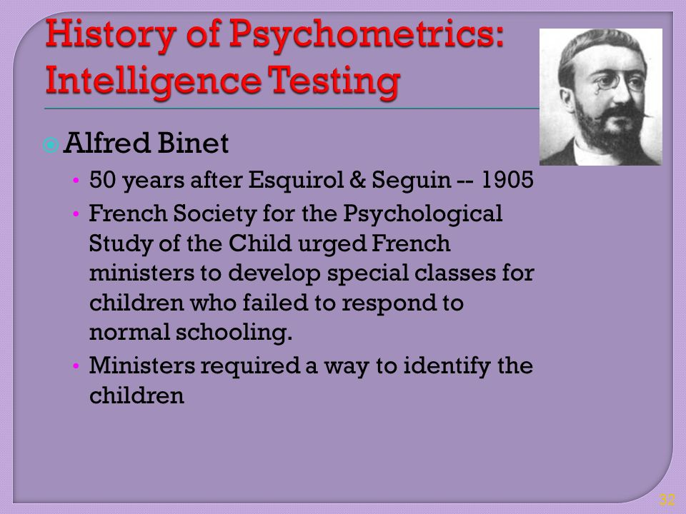 history of psychological assessment Psychological assessments offer enormous power for clinicians and patients   situation/problems and important elements of personal history.