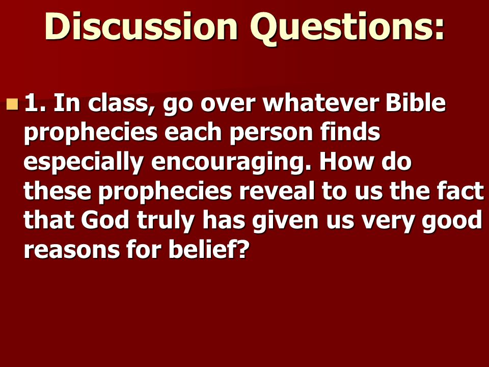 a discussion of the question of who god really is A good way to structure a direct study of scripture is to use a series of questions there's nothing like a good question to get people thinking you can use the following questions when you study any passage in the bible.