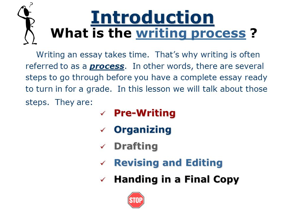 essay writing steps powerpoint