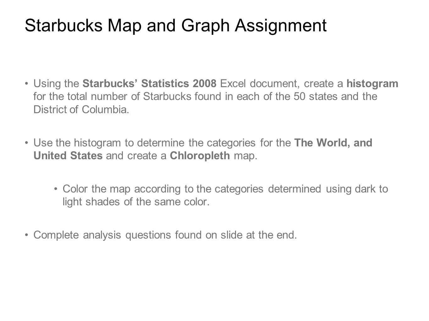 Where in the world are all the Starbucks  ppt video online download