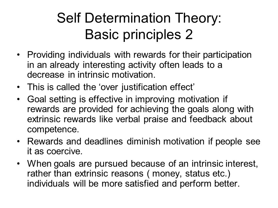 activity 3 paper motivation theory and On the assessment of situational intrinsic and extrinsic motivation: the situational motivation scale  situational intrinsic motivation toward the activity since deci's study, much lab.
