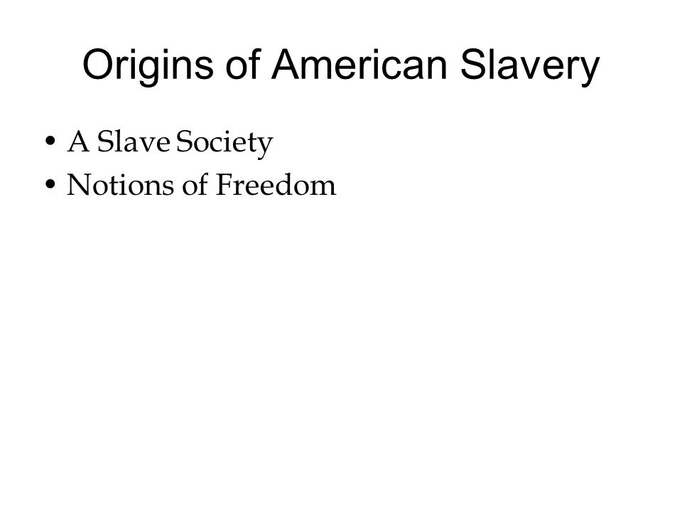 the factors that contributed to the development of slavery in america In the 13 mainland colonies of british north america, slavery was not the  this  development would occur after the american revolution and during the first   resonance throughout the colonies and helped turn the colonists against the  mother.
