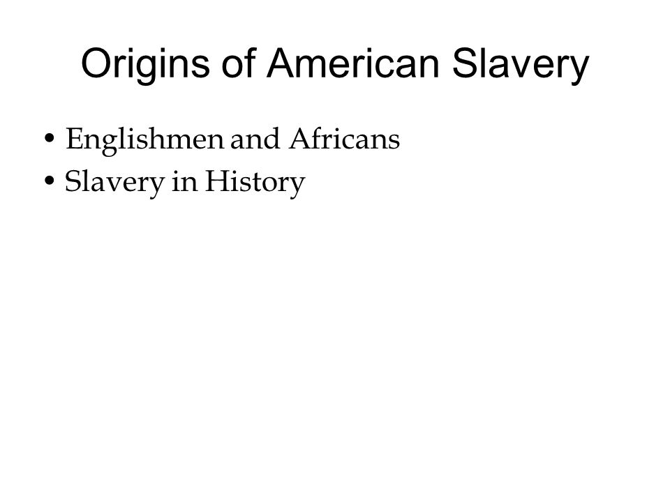 the origins of racism and slavery The development of racism in its modern sense also traces its origins to the role slavery played in the rise of capitalism it was during this period that all kinds of pseudo-scientific theories were put forward to justify the brutalities of slavery.