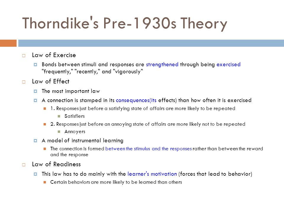 discussion of thorndike laws 1 2 Example 213 p_q:r discussion one of the important techniques used in proving theorems is to replace, or sub-  ,f domination law and commutative law example 25 .