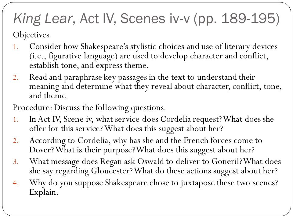 """generational conflict in king lear King lear beyond reason: love and justice in the family  alack, too weak the  conflict to support""""  edgar must nevertheless resign himself and his generation  to a comparatively brief and cheerless life, partly because,."""