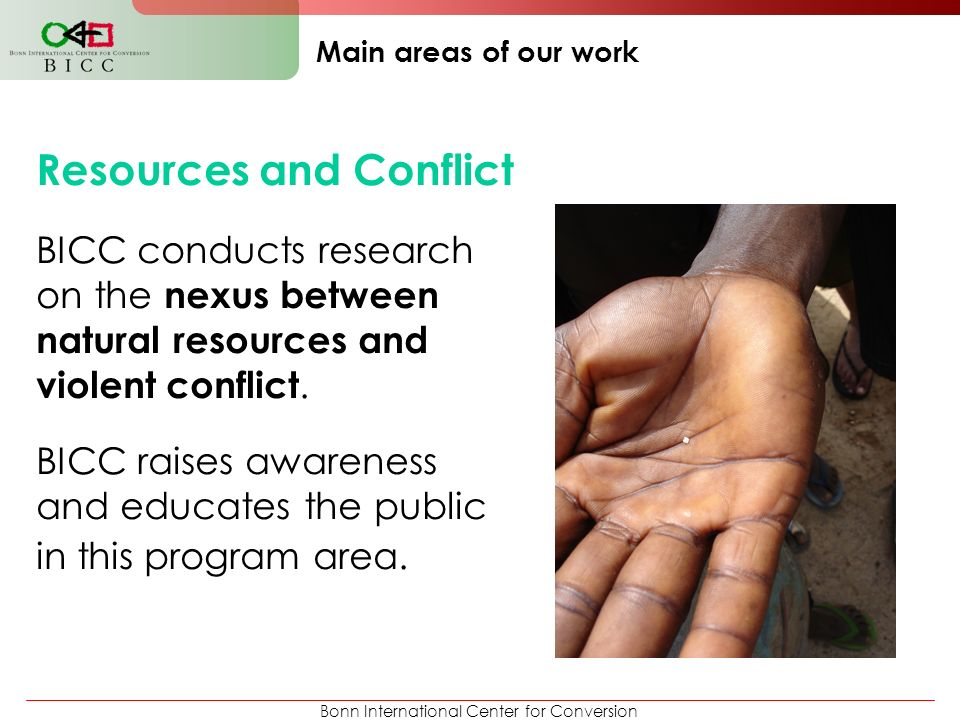 Resources and Conflict