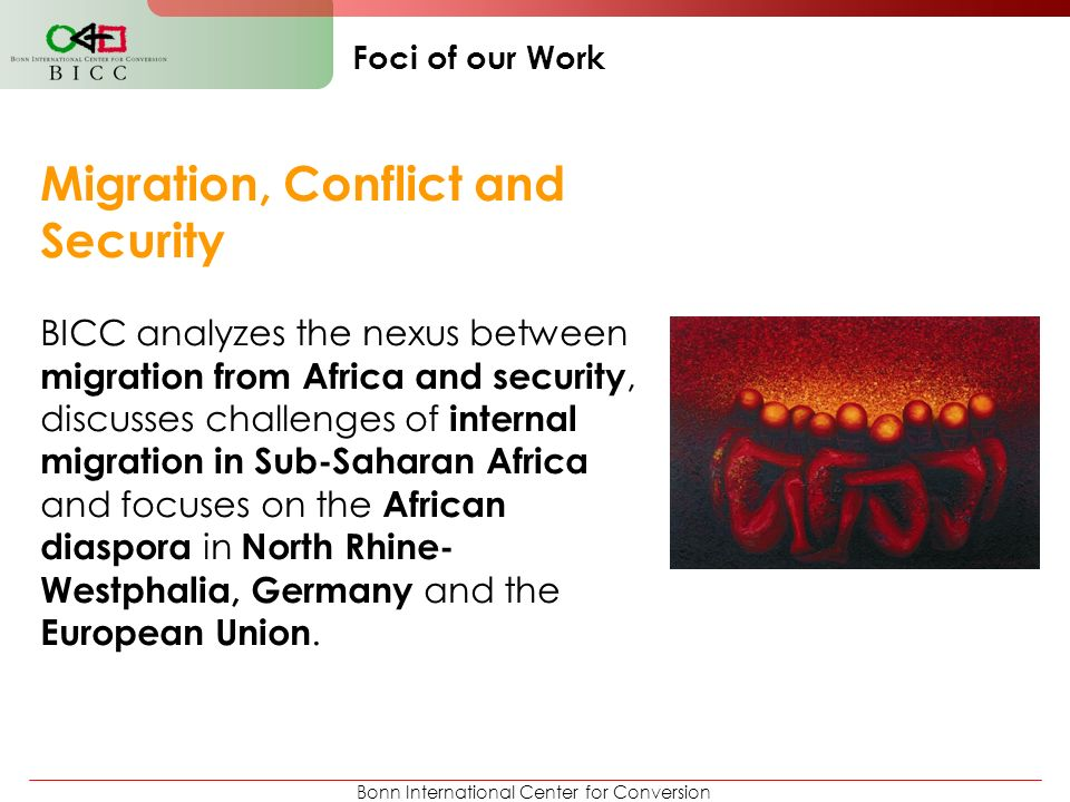 Migration, Conflict and Security