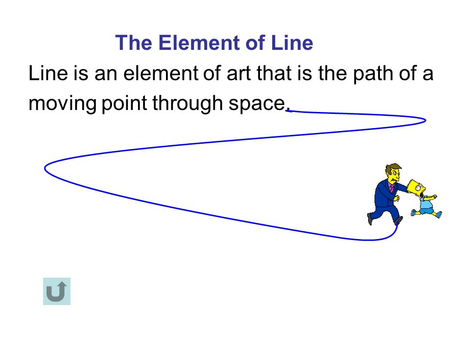 Illustrate The Element Line In Visual Art : The elements of art basic visual symbols in
