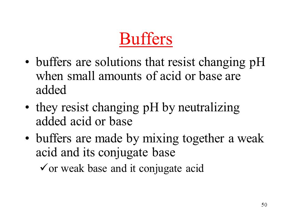 how the ph changes by adding acid and base to the buffers essay Student: ph and ph meter essay should use ph buffers 70 and 100 likewise, a ph probe in an add base to the acid solution the ph will increase.