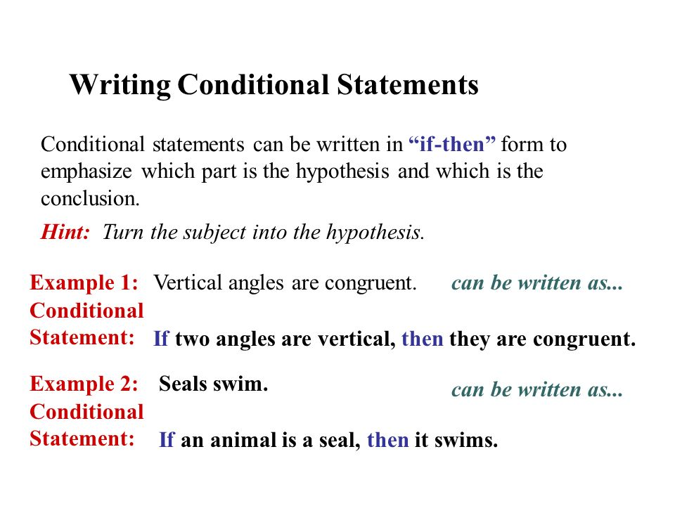 Conditional Statement - ppt video online download