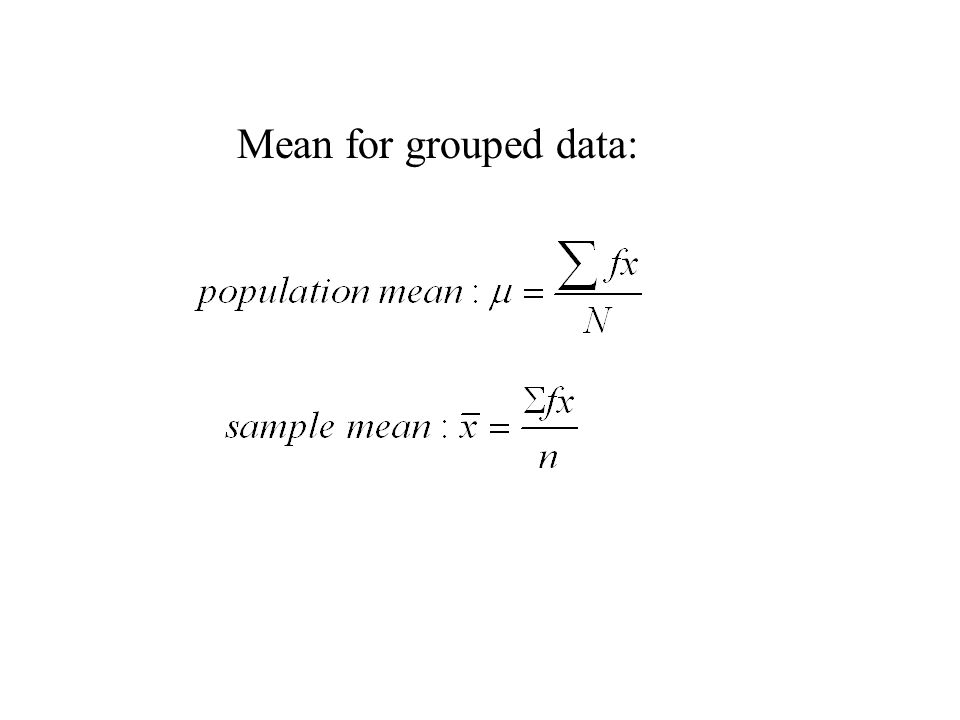 how to find median of ungrouped data