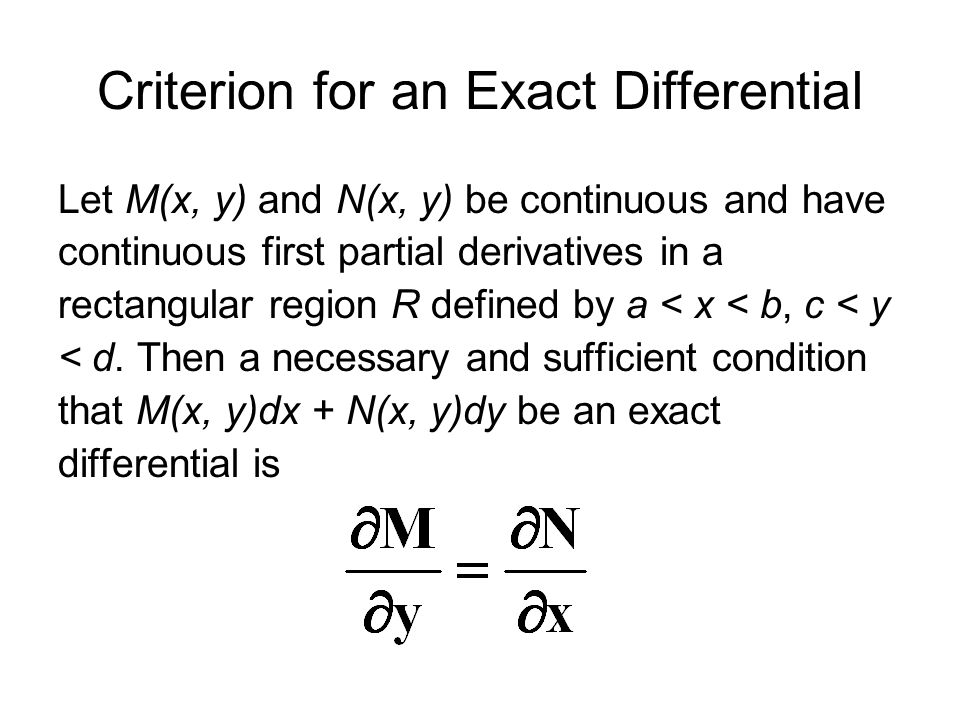 First-Order Differential Equations - ppt video online download