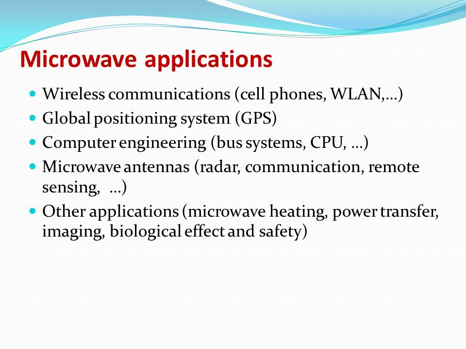 Electromagnetic Waves And Applications Part Iii Ppt