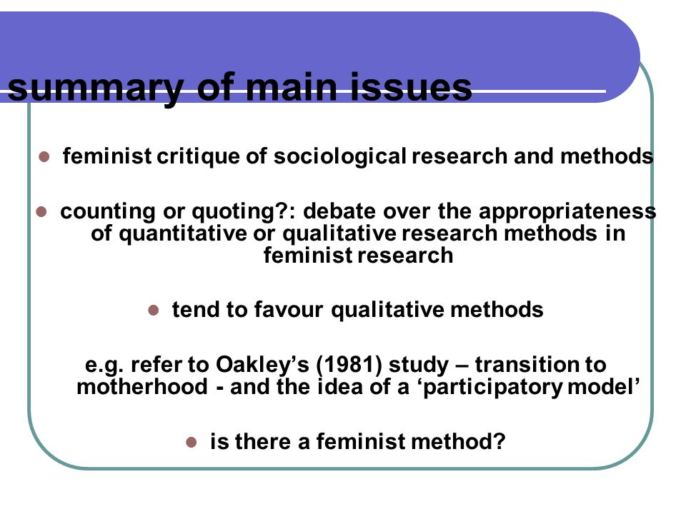 an analysis of the achievements of feminist research Patriarchy: feminist theory marxist feminist analysis london comparative reflections on gen- assist men in the achievement of peace when women are.