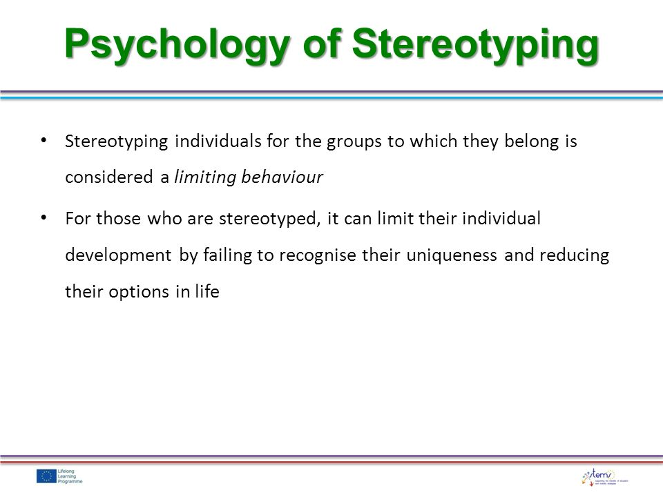 Stereotype embodiment theory