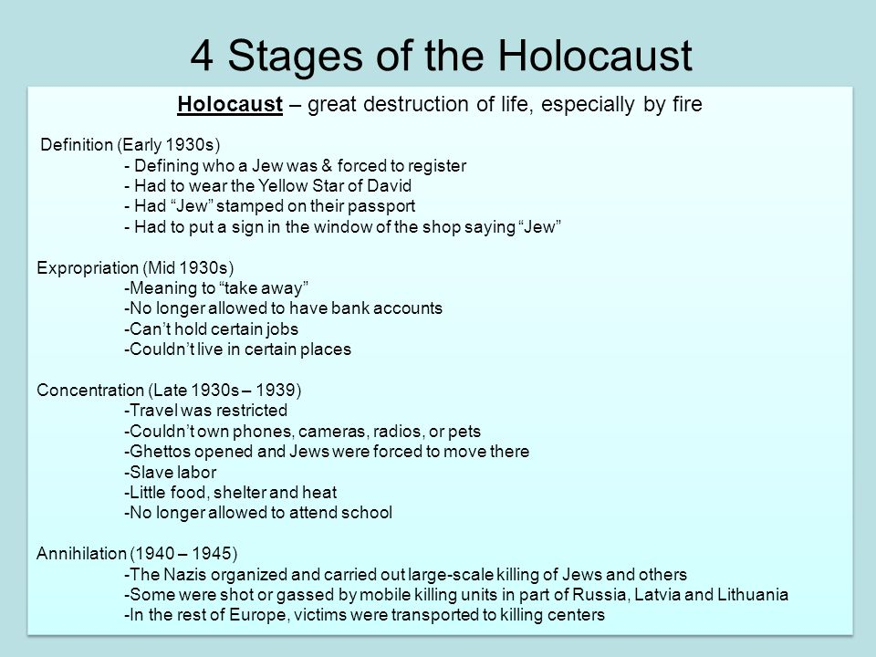Holocaust History Power Point 1 Ppt Download