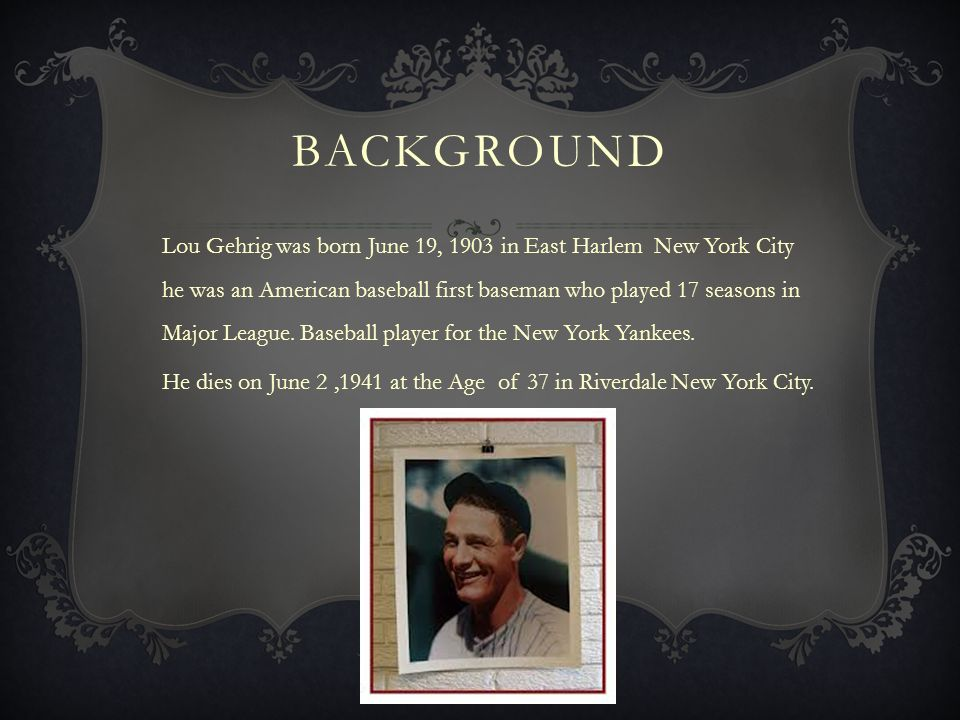 Q Essay: The world was lucky to have Lou Gehrig